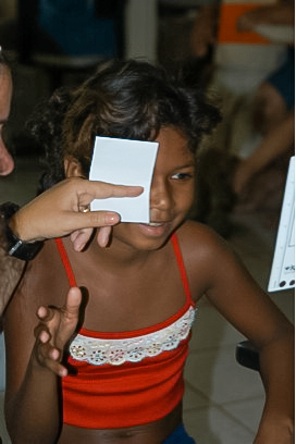 Brazil Child Eye Exam